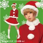 【クリスマスコスプレ】ベイシックサンタ レッド 2Lサイズ