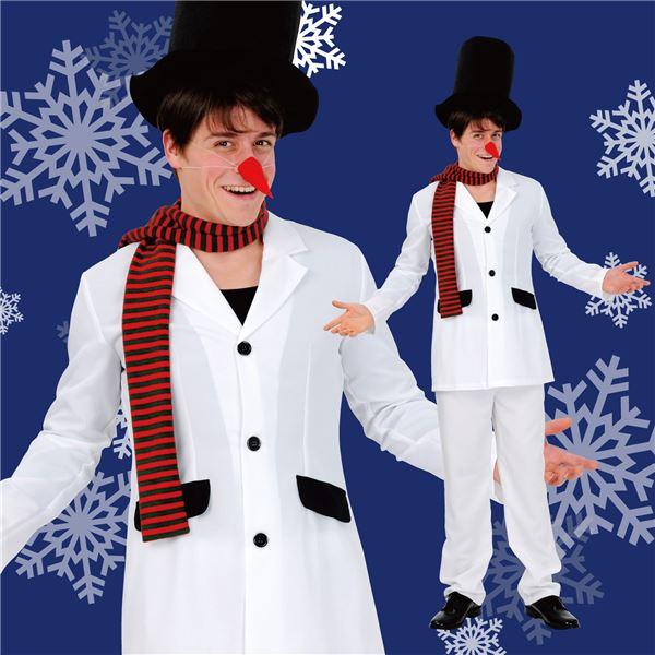 クリスマス コスプレ スタイリッシュ雪だるま