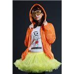 ELEX(エレクトリック イーエックス)光るパーカー オレンジ Ladies