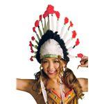 コスプレ衣装/コスチューム 【インディアンハット】 ユニセックス180cm迄 ポリエステル 〔イベント パーティー〕