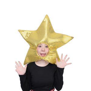 【クリスマスコスプレ 衣装】 光るスターハット f05