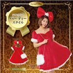 【クリスマスコスプレ 衣装】 ロリータリボンサンタ