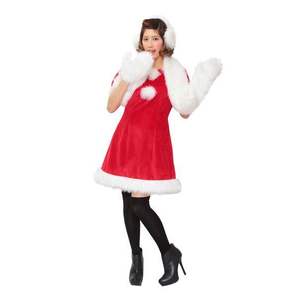 【クリスマスコスプレ・レディース】 ホワイトシュガーサンタ