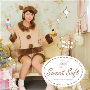 【クリスマスコスプレ 衣装】 Sweet Soft キュートパンツトナカイ - 拡大画像