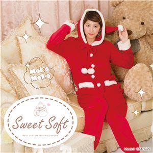 【クリスマスコスプレ 衣装】 Sweet Soft オールインワンサンタ - 拡大画像