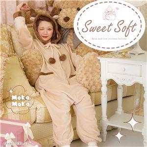 【クリスマスコスプレ 衣装】 Sweet Soft オールインワントナカイ - 拡大画像