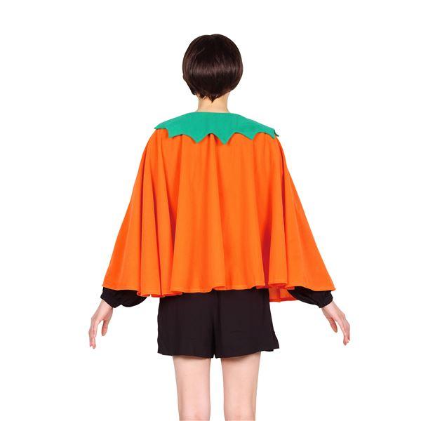 【ハロウィン マント】 ショートパンプキンマント