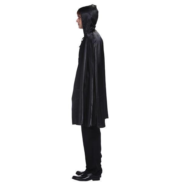 【ハロウィン 簡単仮装】ブラックマント/黒マント