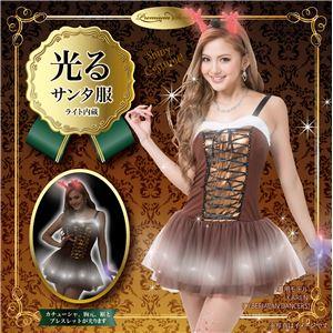 【クリスマスコスプレ 衣装】 エレクトリックトナカイドレスの画像