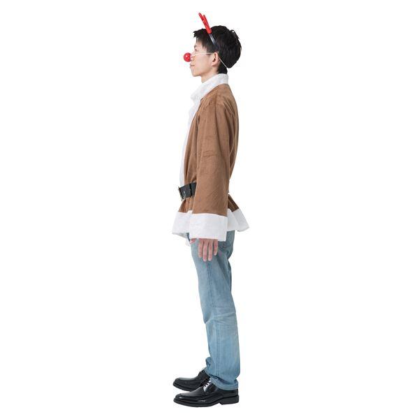 【光るトナカイコスプレ】 光るトナカイジャケット