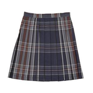 【コスプレ】 Teens Ever(ティーンズエバー) TE-16SSスカート(ネイビー/ブラウン)Lの画像
