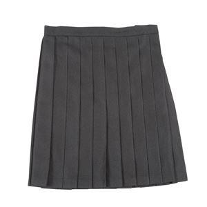 制服 コスプレ衣装 【スカート ブラック Lサイズ】 3段階アジャスター ポケット付き 『Teens Ever』 〔イベント〕 - 拡大画像