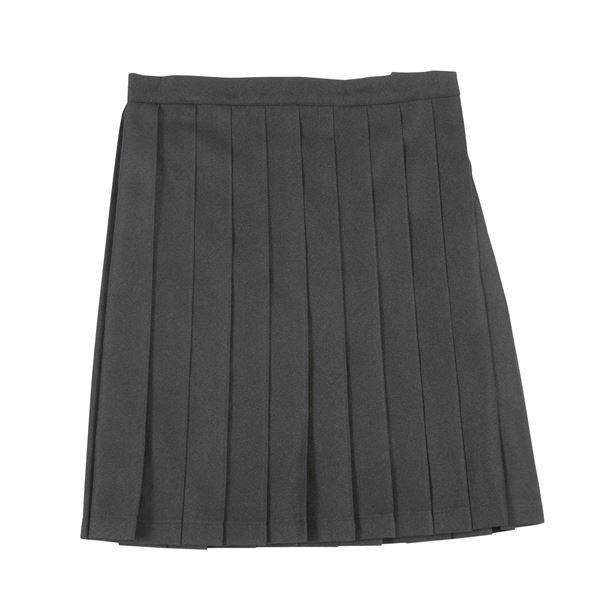 制服 コスプレ衣装 【スカート ブラック Lサイズ】 3段階アジャスター ポケット付き 『Teens Ever』 〔イベント〕