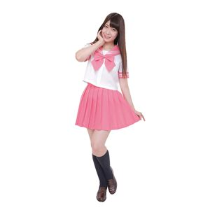 【コスプレ】カラーセーラー ピンク4Lの画像