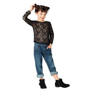 【コスプレ】 レーストップス Kids ブラック120cm  (子供用/キッズ)の画像