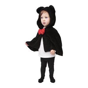 子供用 コスプレ衣装 【もこもこキャットケープ】 キッズ/ベビー兼用 1〜2歳目安 身長80cm〜90cm 〔ハロウィン〕の画像