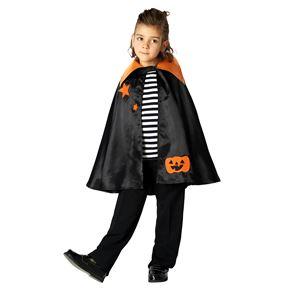 子供用 コスプレ衣装 【ハロウィンスターマント】 ボタン仕様 ポリエステル 〔ハロウィン〕の画像