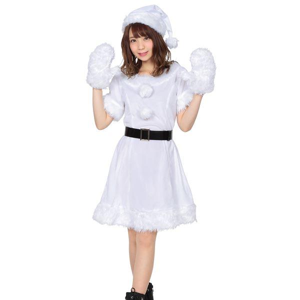 天使みたいで可愛すぎる♪カラフルサンタ(ホワイト)