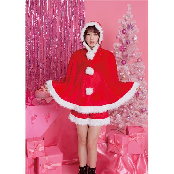 【クリスマスコスプレ 衣装】 ホットココアサンタ
