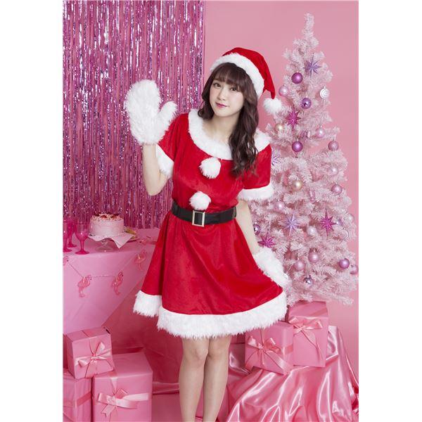 【クリスマスコスプレ 衣装】 キャンディサンタ