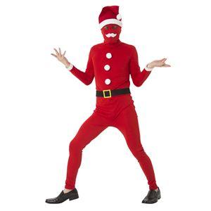 【クリスマスコスプレ 衣装】 イケイケサンタタイツの画像