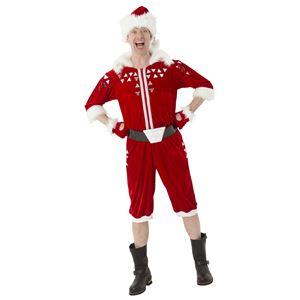 サンタコスプレ/コスプレ衣装 【ブロークンミラーサンタ】 メンズ 帽子 つなぎ ベルト グローブ付き 『マジサンタ』の画像