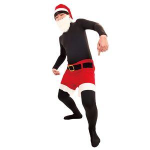 クリスマスコスプレ/衣装 【今すぐサンタ】 ユニセックス180cm迄 ポリエステル 〔イベント パーティー〕 - 拡大画像