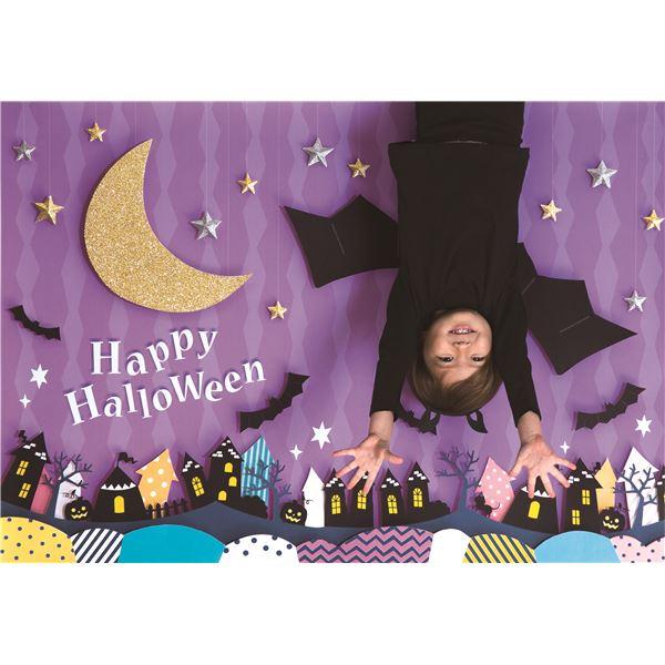 フォトポスター/壁紙ポスター 【Halloween 逆さコウモリ】 A0サイズ 841mm×1189mm 紙製 『イエスタ iesta』