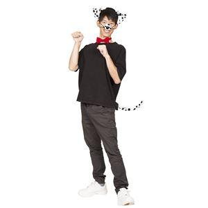 コスプレ衣装/コスチューム 【わんわんセット ダルメシアン】 カチューシャ 付け鼻 チョーカー しっぽ付き ポリエステルの画像