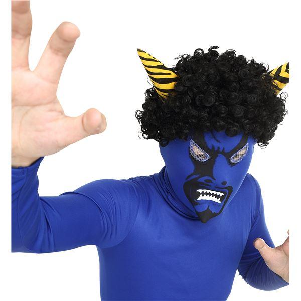 【コスプレ】リアル鬼マスク青の画像5