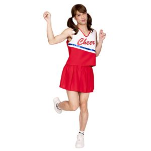 コスプレ衣装/コスチューム 【フレッシュチアMAN】 トップス スカート付き 『女装MAN』 〔ハロウィン〕