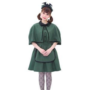 コスプレ衣装/コスチューム 【洋館メイド ミニ】 ポリエステ