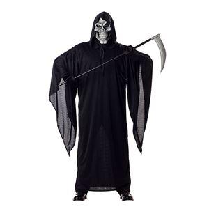 コスプレ衣装/コスチューム California Costumes GRIM REAPER / ADULT 【フード付きローブ・スカルマスク】