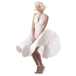 コスプレ衣装/コスチューム California Costumes SEXY MARILYN / ADULT ドレス