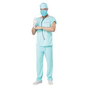 コスプレ衣装/コスチューム California Costumes DR. BLOODBATH / ADULT 【シャツ・パンツ・キャップ・聴診器・サージカルマスク・ハーフマスク】