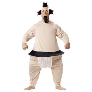 コスプレ衣装/コスチューム California Costumes SUMO WRESTLER / ADULT 【ボディスーツ・ヘッドピース】 - 拡大画像