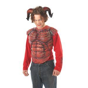 コスプレ衣装/コスチューム California Costumes DEMON HORNS W/TEETH 【悪魔の角・歯】 - 拡大画像