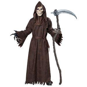 コスプレ衣装/コスチューム California Costumes Ancient Reaper 【ローブ・フード付きローブ・スカルマスク・手袋】