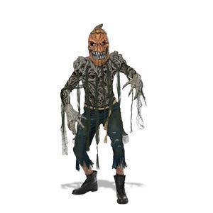 コスプレ衣装/コスチューム California Costumes Pumpkin Creature 【マスク・ビニールショルダーピース・プリントTシャツ・ガーゼの紐・ロープベルト・手袋】