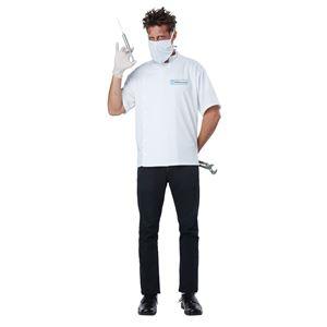コスプレ衣装/コスチューム California Costumes Dr. Novocaine 【シャツ・サージカルマスク・ハーフマスク】