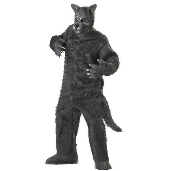 コスプレ衣装/コスチューム California Costumes Big Bad Wolf 【ボディスーツ・マスク・足・靴】