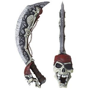 コスプレ衣装/コスチューム California Costumes Skeleton Cutlass ソード
