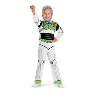 コスプレ衣装/コスチューム Disguise Buzz Lightyear Classic Child フード付きジャンプスーツ