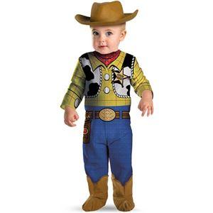 コスプレ衣装/コスチューム 【Woody Classic Infant ジャンプスーツ】 ポリエステル 『Disguise』 〔ハロウィン〕 - 拡大画像