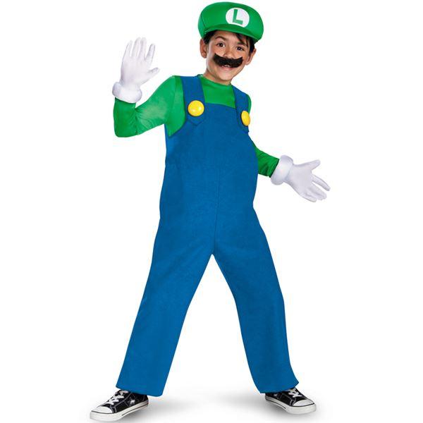 コスプレ衣装/コスチューム 【Luigi Classic ジャンプスーツ】 ポリエステル 『Disguise』 〔ハロウィン〕