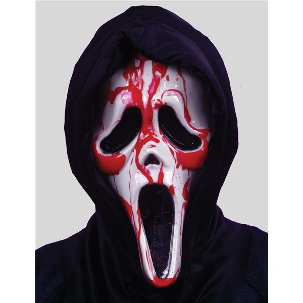コスプレ衣装/コスチューム Fun world Bleeding Ghost Face Mask 流血マスク