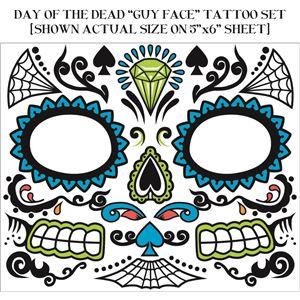 コスプレ衣装/コスチューム FORUM DAY OF DEAD TATTOO FACE-FEMALE フェイスタトゥー
