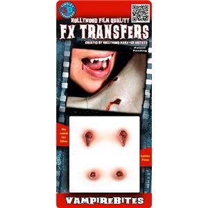 コスプレ衣装/コスチューム Tinsley Transfers Vampire Bites 装飾メイクシール