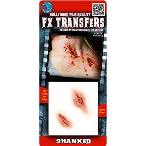 コスプレ衣装/コスチューム Tinsley Transfers Shanked 装飾メイクシール