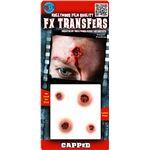 コスプレ衣装/コスチューム Tinsley Transfers Capped 装飾メイクシール